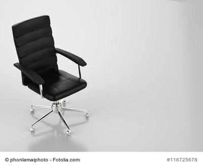 Schreibtischstuhl aus hochwertigem Material für den Einsatz am Arbeitsplatz und der Uni